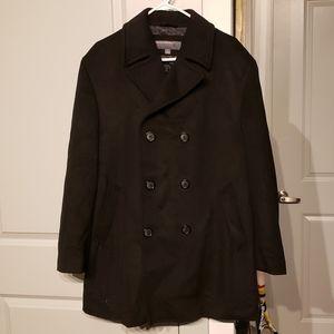 Perry Ellis wool peacoat. Size medium.